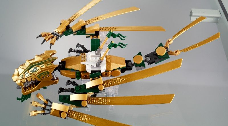 LEGO Ninjago From Thought To Theme Golden Dragon Featured 800x445