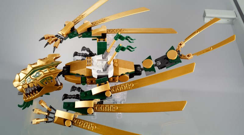 LEGO Ninjago From Thought To Theme Golden Dragon Featured