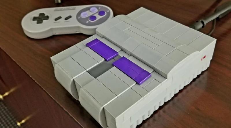 LEGO Nintendo SNES Moc Featured