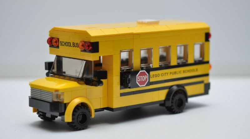 LEGO official online store school bus advert fan made model featured