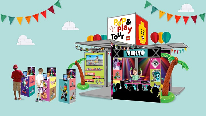 LEGO pop and play tour UK 2