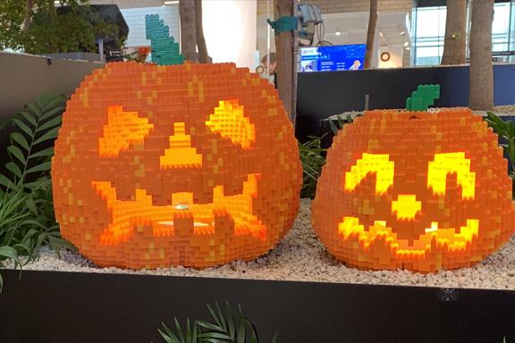 LEGO Pumpkins Halloween Featured