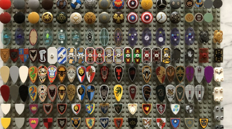 LEGO Shield Collection Featured