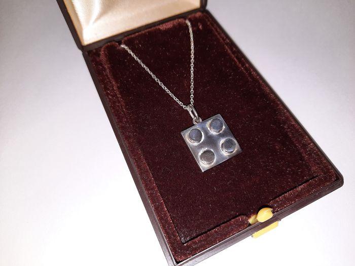 LEGO Silver Necklace Catawiki 2