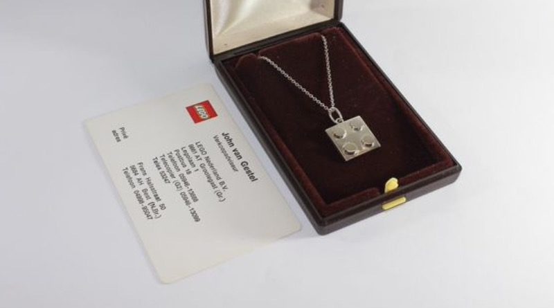 LEGO silver necklace Catawiki featured