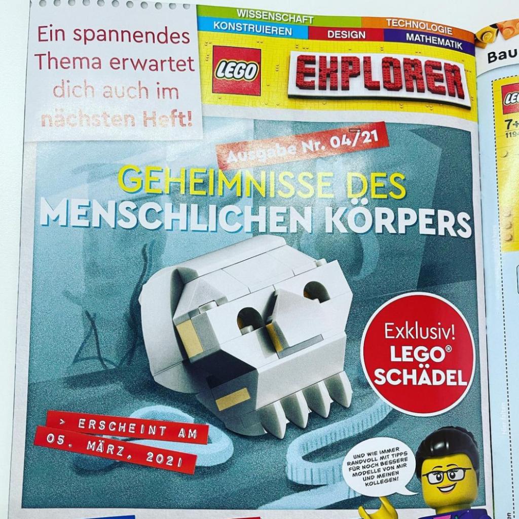 LEGO skull explorer polybag