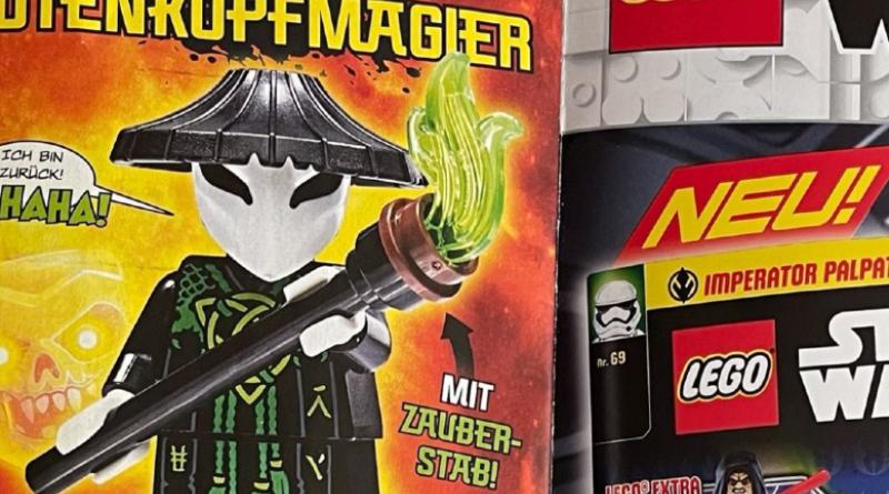LEGO Skull Sorcerer Ninjago Magazine Featured