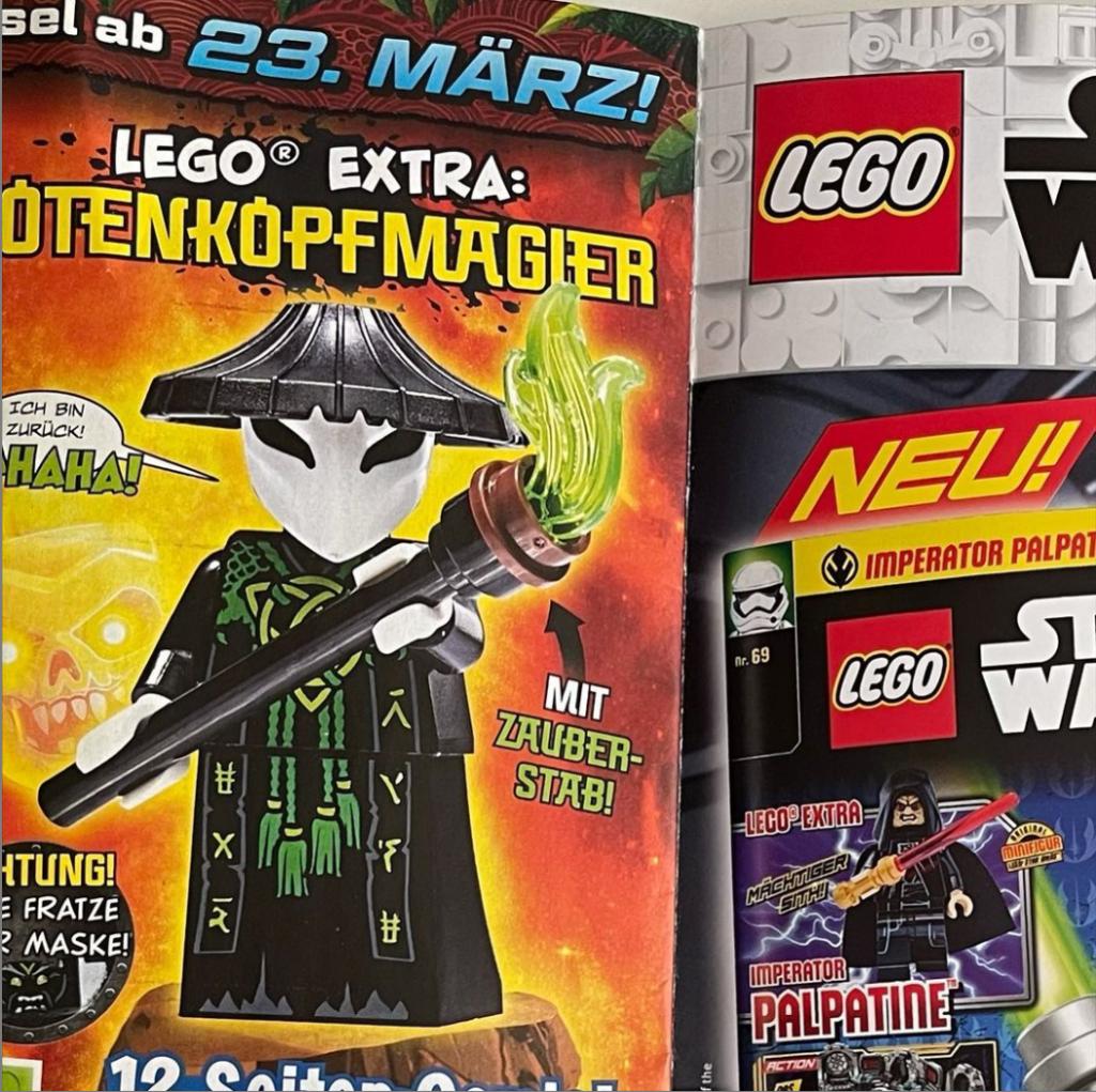 LEGO Skull Sorcerer Ninjago Magazine