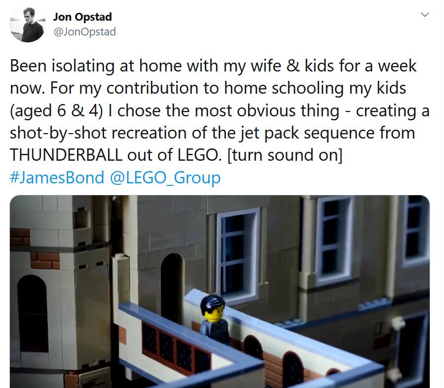 LEGO Stop Motion James Boond Thunderball