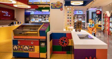 LEGO Store Minifigure Factory