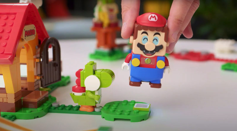 LEGO Super Mario Characters Designer Video Featured 800x445