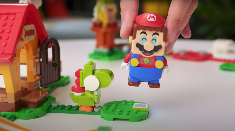 LEGO Super Mario Characters Designer Video Featured