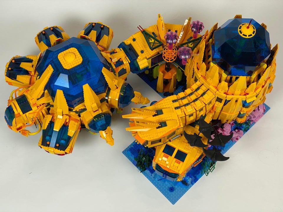 LEGO underwater base 3
