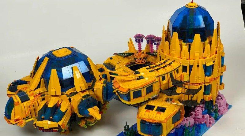 LEGO underwater base reddit featured