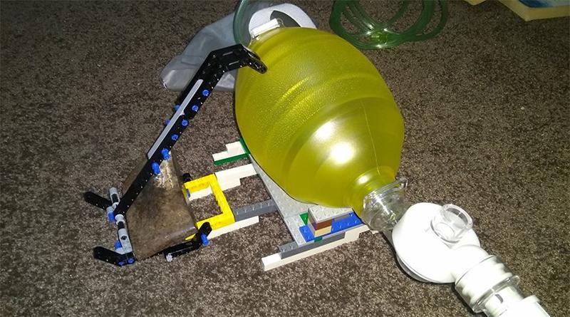 LEGO ventilator prototype
