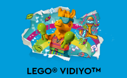 LEGO vidiyo teaser site