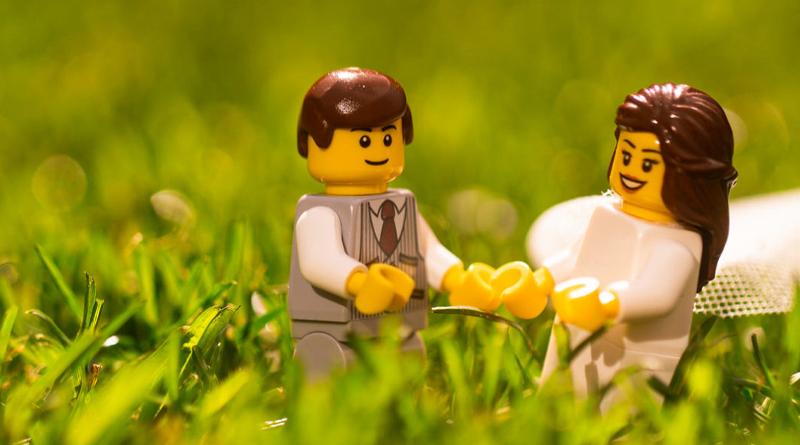 LEGO wedding featured