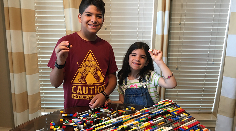 LEGO Wheelchair Ramp Project Featured