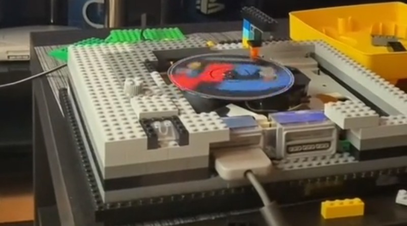 LEGO Working PlayStation Featured