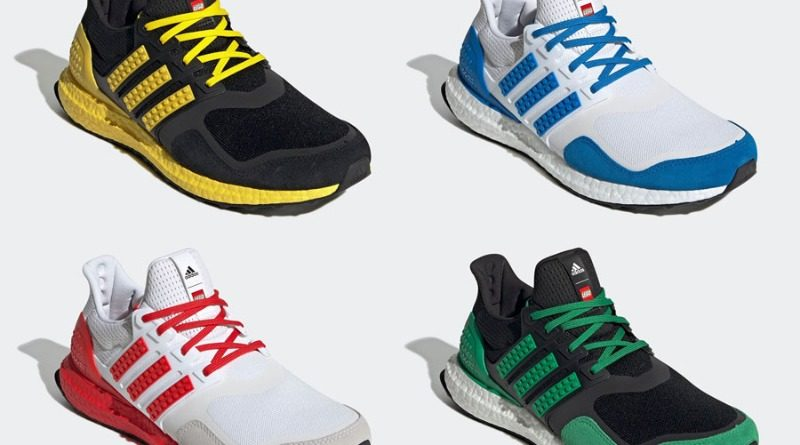 LEGO x Adidas Ultra Boost Color Pack