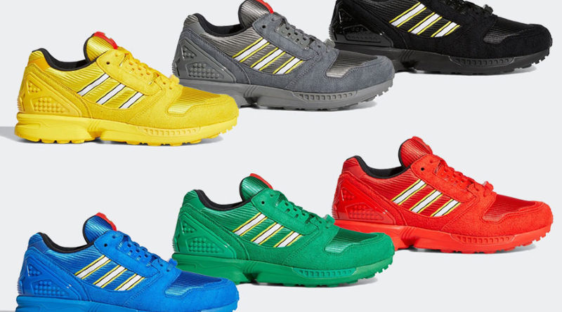 LEGO x Adidas trainers new collection colour featured