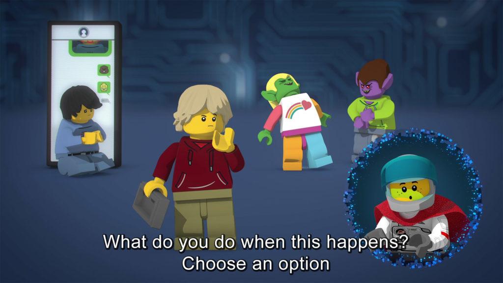 LEGO.com experience Scenario 1 Intro