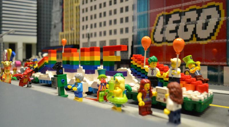 LEGOLAND Discovery Centre Westchester LEGO Pride Parade