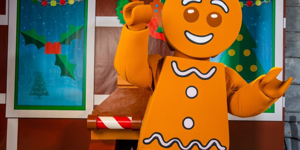 LEGOLAND Florida Gingerbread Man