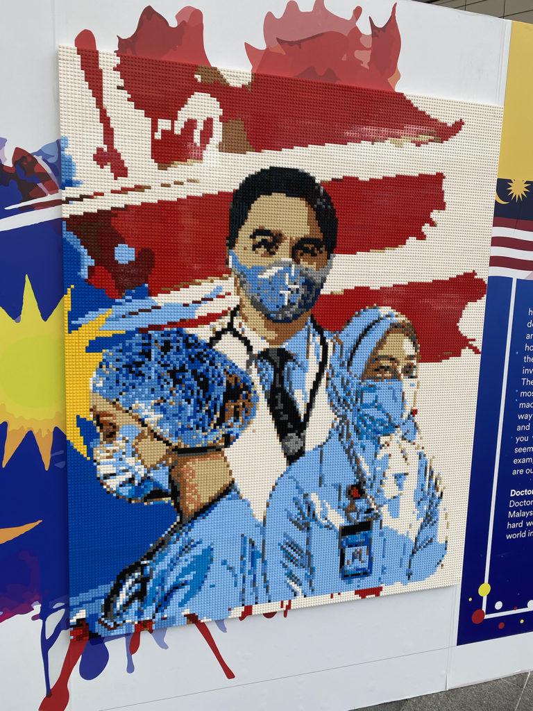 LEGOLAND Malaysia Frontline Mosaic