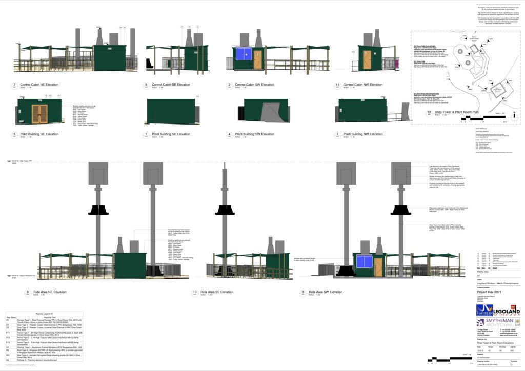LEGOLAND Project Rex Plan 1