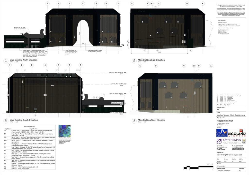 LEGOLAND Project Rex Plan 2