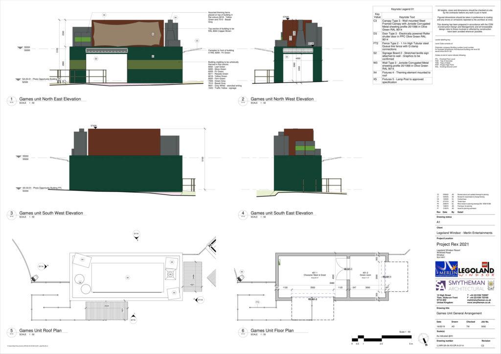 LEGOLAND Project Rex Plan 3