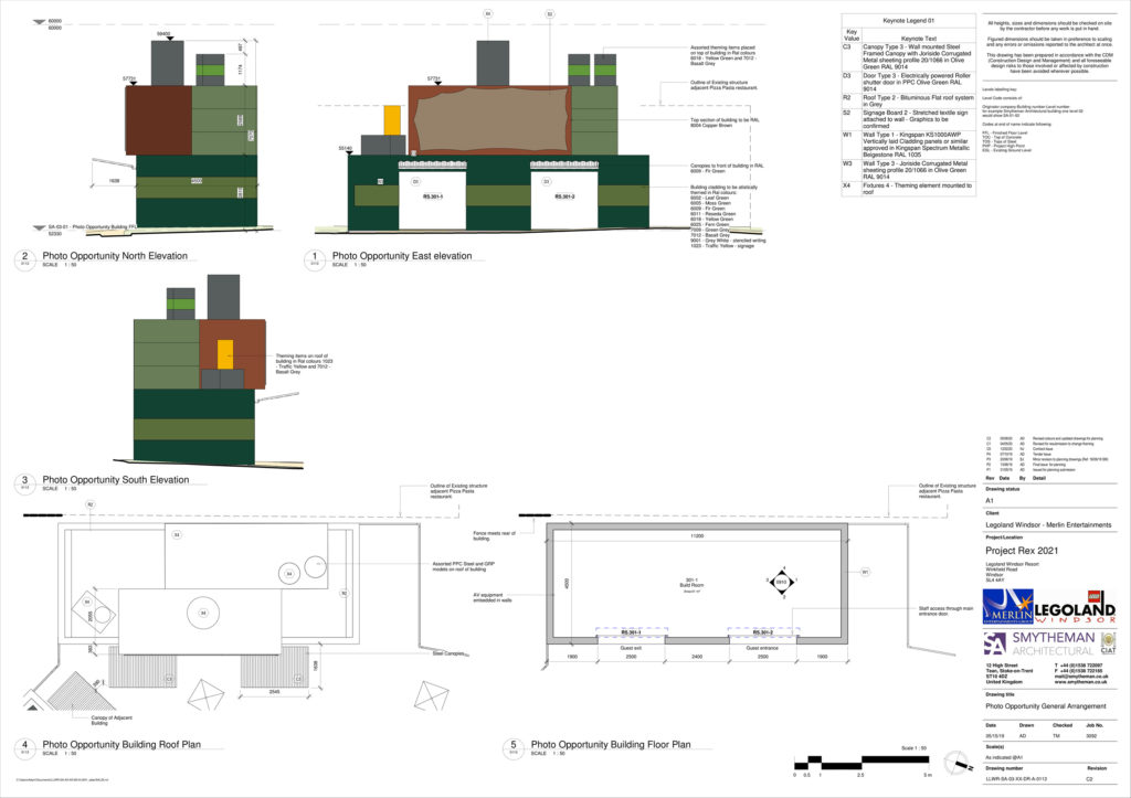LEGOLAND Project Rex Plan 4