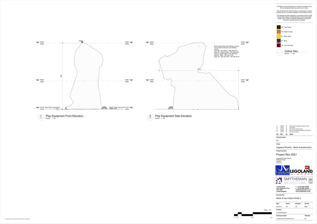 LEGOLAND Project Rex Plan 5