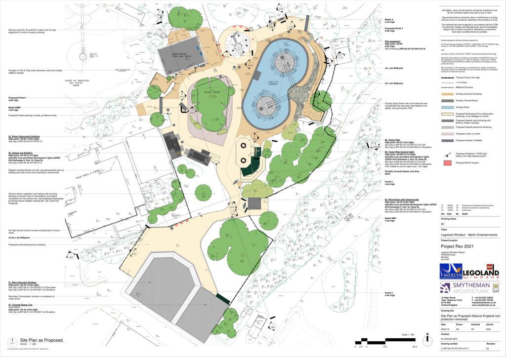 LEGOLAND Project Rex Plan 6