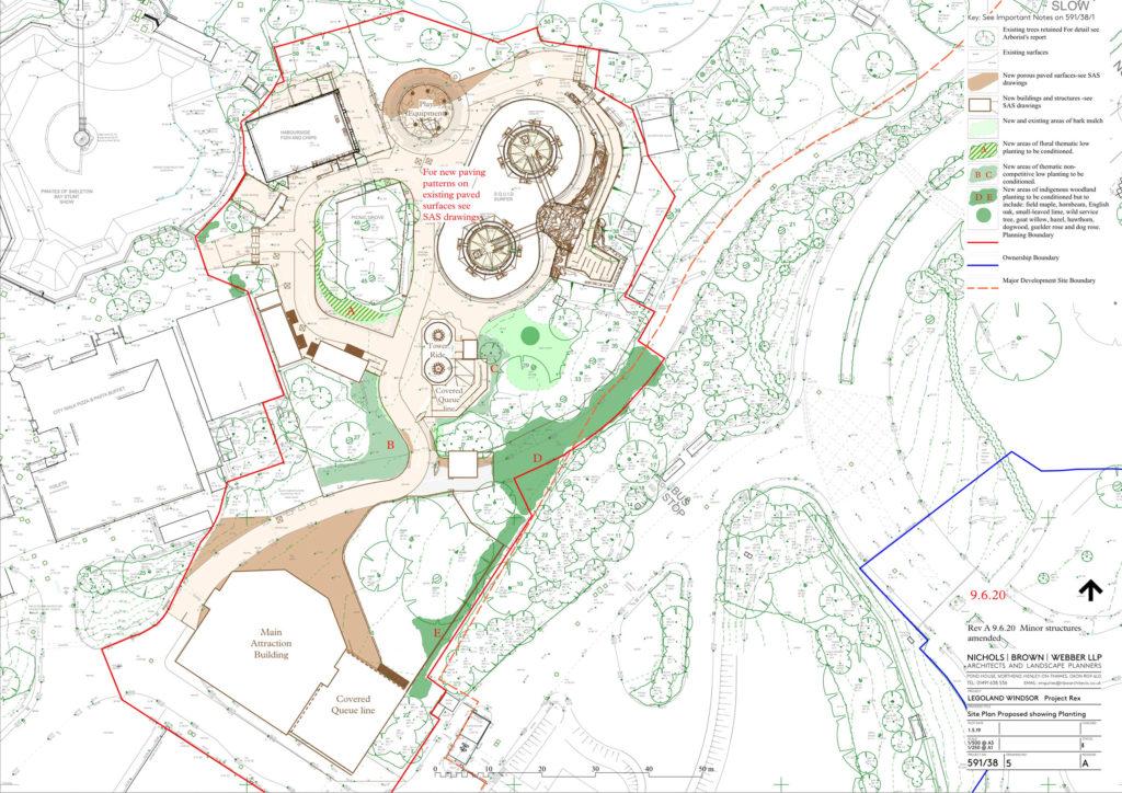 LEGOLAND Project Rex Plan 8