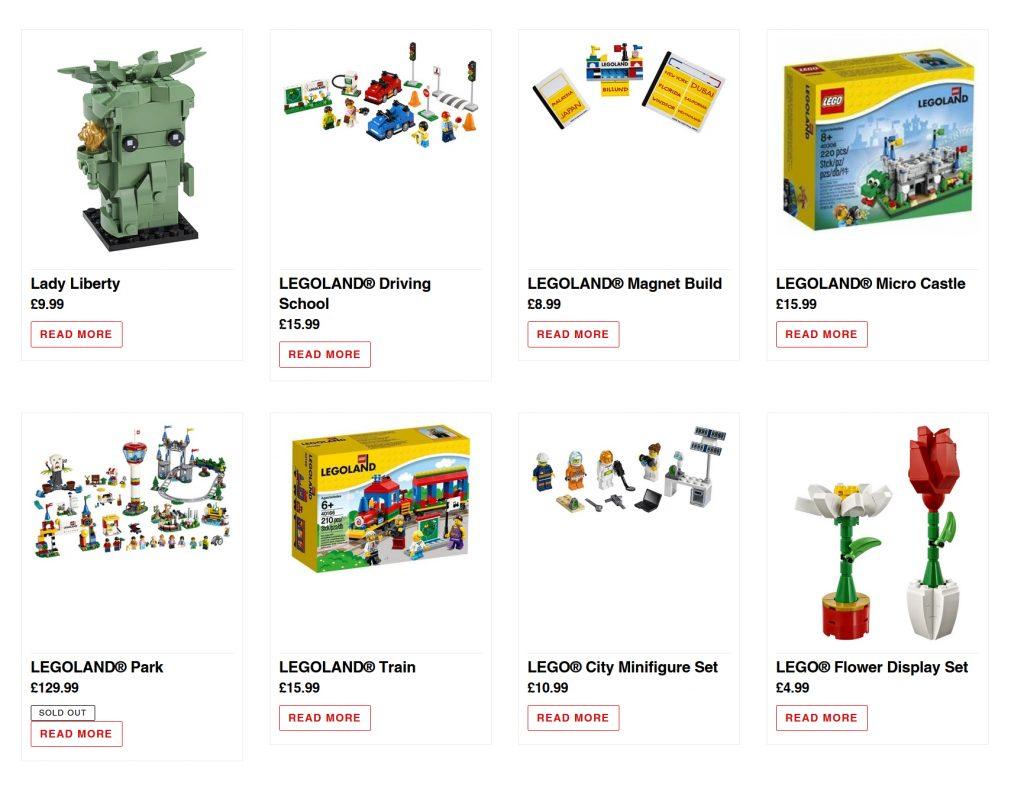 LEGOLAND WIndsor Online Shop 1024x792