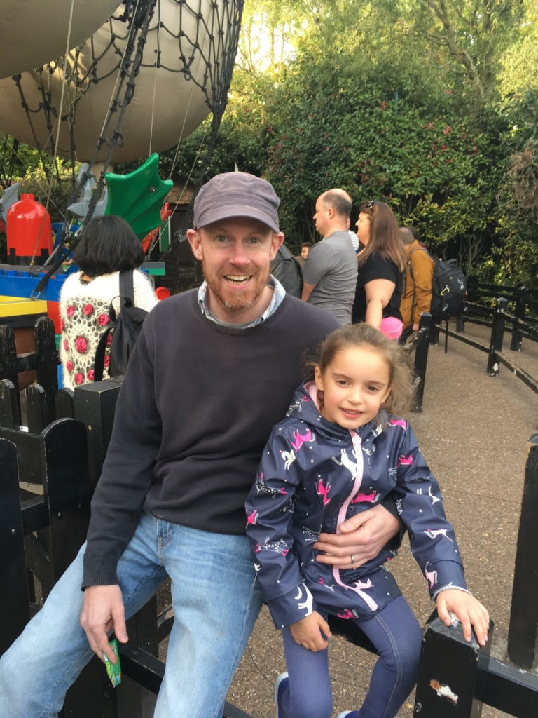 LEGOLAND Windsor Mythica contest winner and uncle