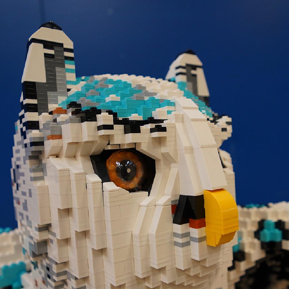 LEGOLAND windsor mythica owl leopard face
