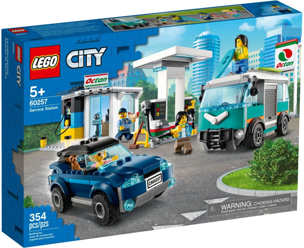 LEGo City 60257 Service Station 1