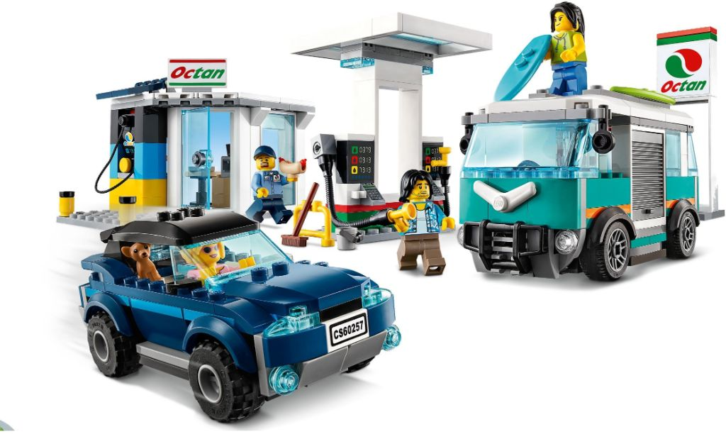 LEGo City 60257 Service Station 2