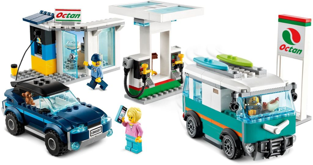 LEGo City 60257 Service Station 3