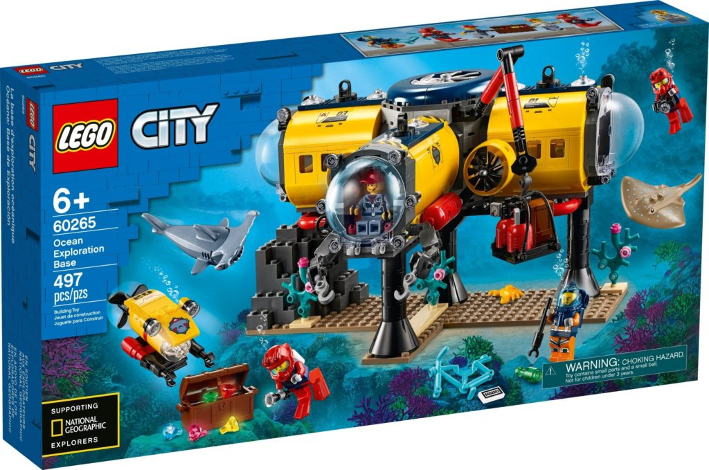 LEGo City 60265 Ocean Exploration Base Box