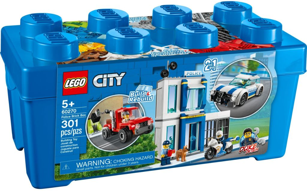 LEGo City 60270 Police Brick Box 1