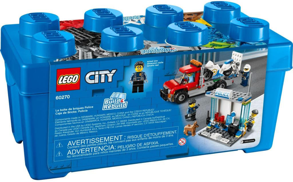 LEGo City 60270 Police Brick Box 3