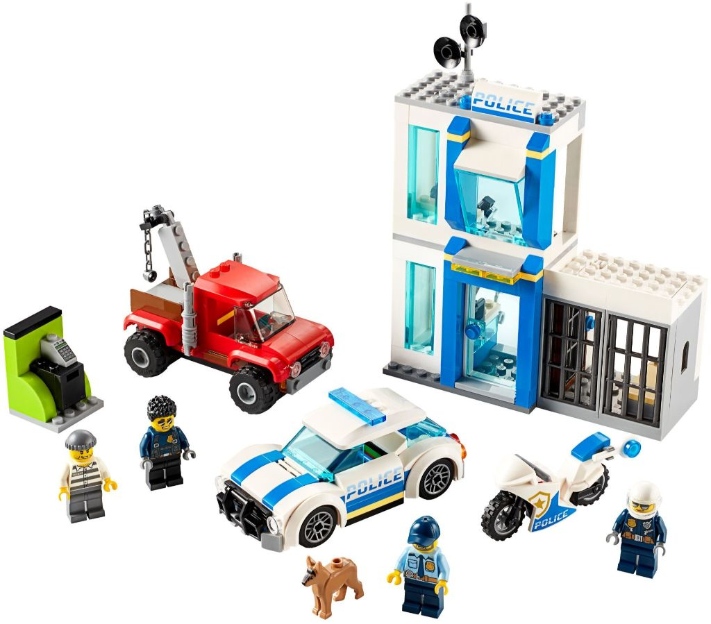 LEGo City 60270 Police Brick Box 4