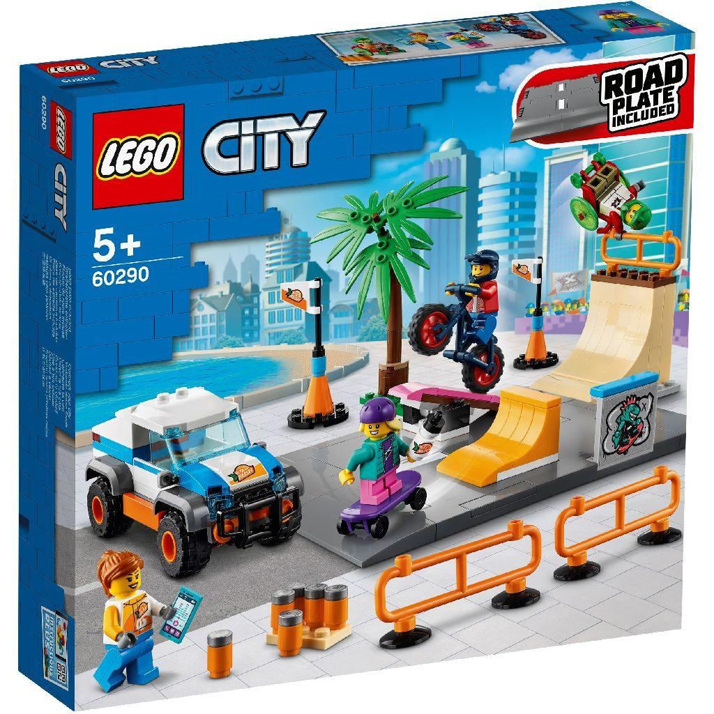 LEGo City 60290 Skate Park 1