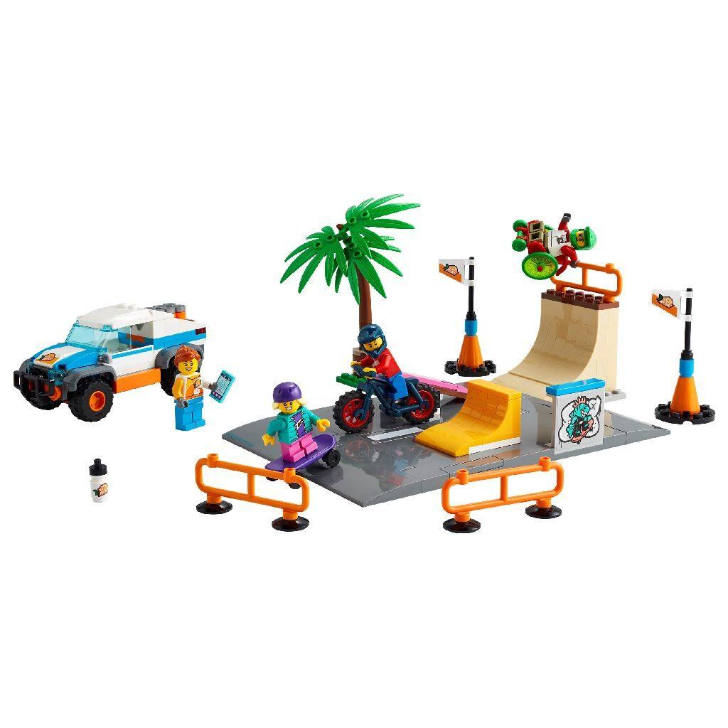 LEGo City 60290 Skate Park 2