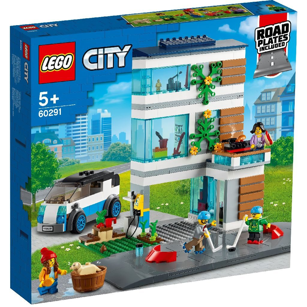 LEGo City 60291 Modern Family House 2 1024x1024