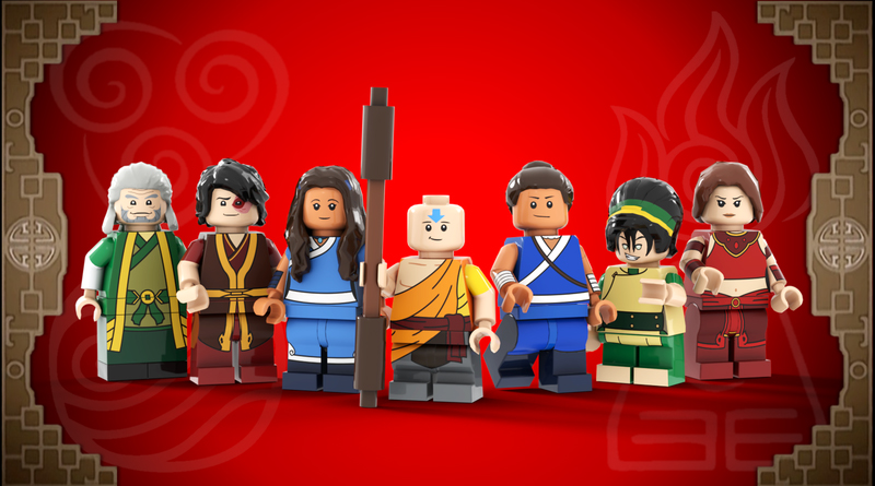 LEGo Ideas Last Airbender Featured